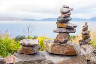 Naklejka Kamienie wieży