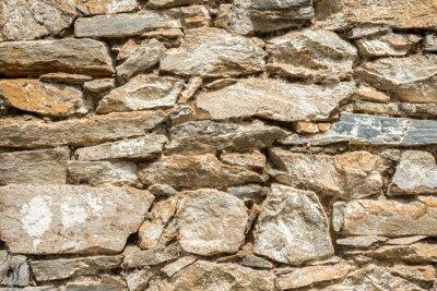 Naklejka Kamienny mur tekstury tła z miejsca na kopię