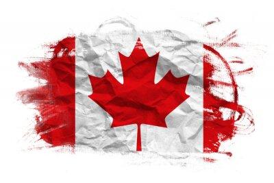 Naklejka Kanada flaga