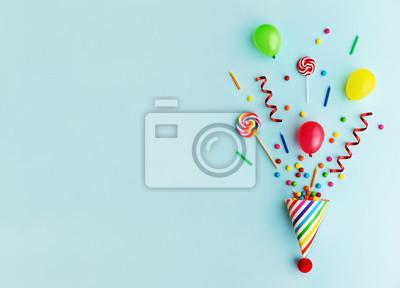 Naklejka Kapelusz urodzinowy