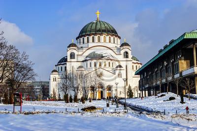 Katedra Saint Sava w Belgradzie, w Serbii,