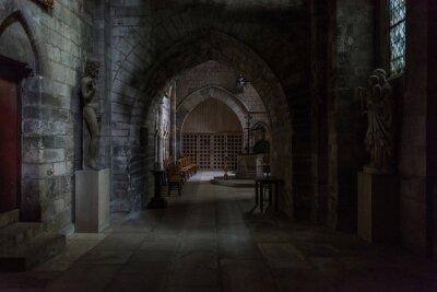 Naklejka Katedra w Rouen Francuskie miasto Rouen