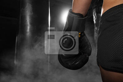 Naklejka Kickboxing