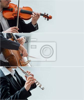 Klasyczne banery muzyka