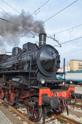 Naklejka Klasyczne pociąg