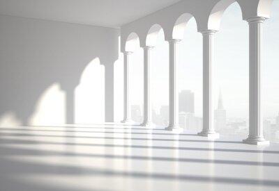 Naklejka klasyczny pokój