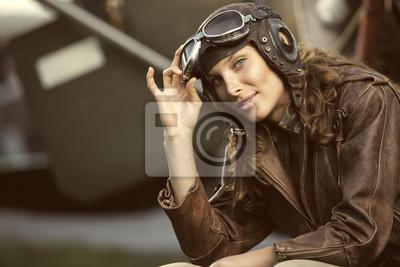 Kobieta lotnik