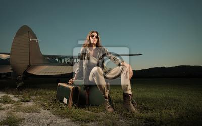 Kobieta podróży