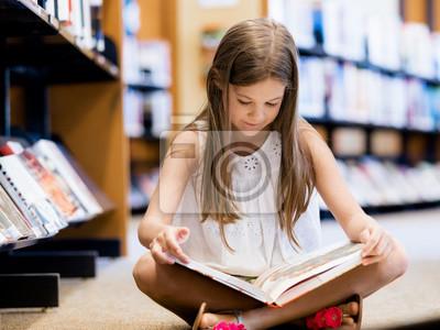 Naklejka kocham czytać