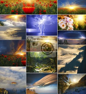 Kolekcja baśń krajobrazy