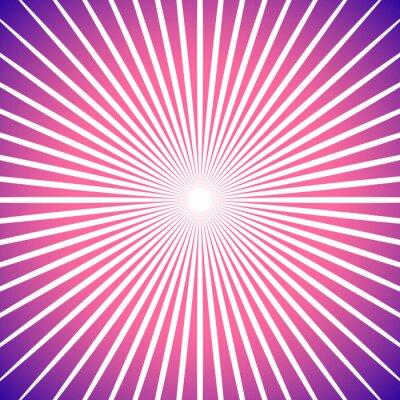 Naklejka Kolorowe Sunburst tle. Promieniujący, linie zbiegają abstra