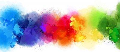 Naklejka kolorowe tło powitalny