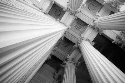 Naklejka Kolumny architektoniczne