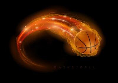 Naklejka Kometa koszykówki
