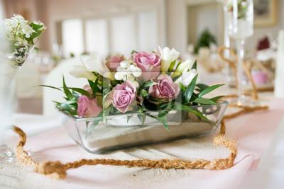 kompozycja kwiatowa ślubne