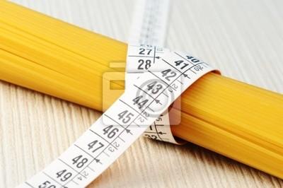 Koncepcja dieta, Spaghetti z miarką
