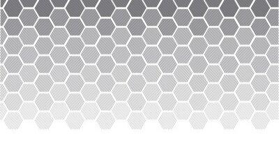 Naklejka Koncepcja geometrii z linii. geometryczne degradować gradient motyw dla nagłówka, plakat, tło.