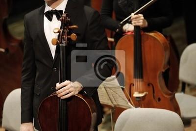 Naklejka Koncert muzyki klasycznej