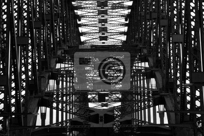 Naklejka Konstrukcja mostu Sydney Harbour