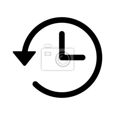 Naklejka Konto linia historia sztuki ikona aplikacji i stron internetowych