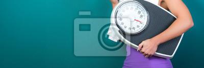 Naklejka kontrola wagi