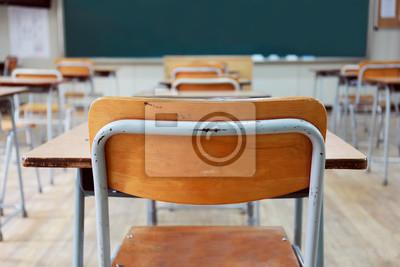 Naklejka Koreańska Szkoła średnia w klasie