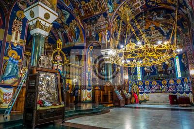 Naklejka Kościół świętego Sawy w Belgradzie