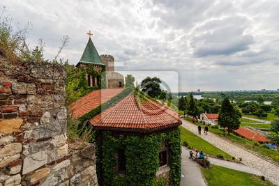 Naklejka Kościół w belgradzkiej twierdzy kamienia