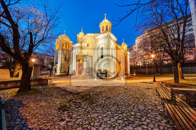 Kościół w nocy