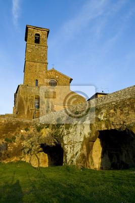 Naklejka Kościół w Orvieto
