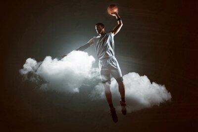 Naklejka Koszykówka