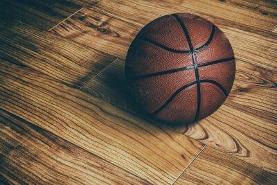 Naklejka Koszykówka na Hardwood 1