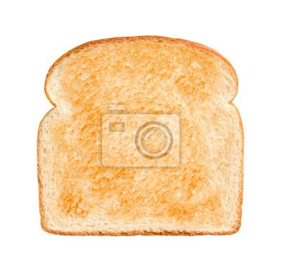 Naklejka Kromka chleba lekko prażone