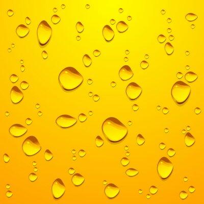 Naklejka kropla wody-6