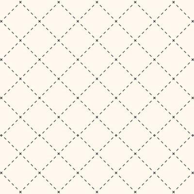 Naklejka Kwadratowy wzór