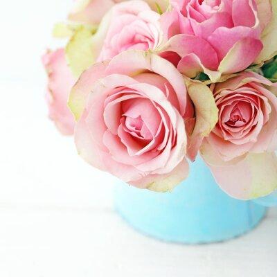 Naklejka kwiaty w wazonie