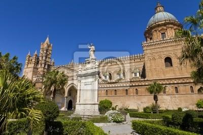 Naklejka La Cattedrale di Palermo