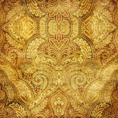Naklejka ładne tło orientalne retro