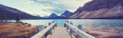 Naklejka Lake in Canada