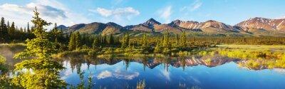 Naklejka Lake on Alaska