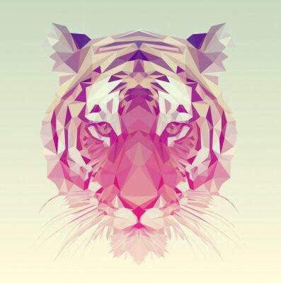 Naklejka Łamana Tiger Graphic Design.