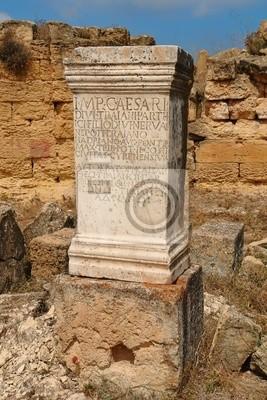 Lapide commemorativa Cirene - Libia