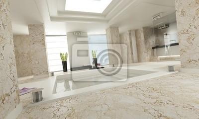 łazienka Luxe Biały Marmur Naklejki Redro