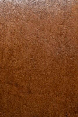 Naklejka leather grunge background: an old piece of tough camel skin, with scuffs, spots, scars