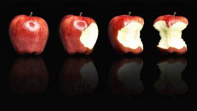 Naklejka lecker Apfel