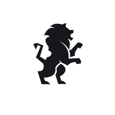 Naklejka Leone logo