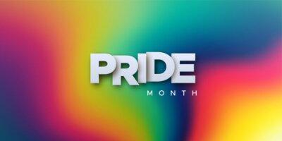 Naklejka LGBTQ Pride Month. Vector illustration.