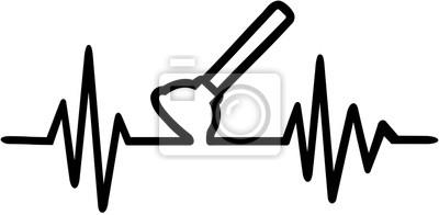 Linia serca tętna