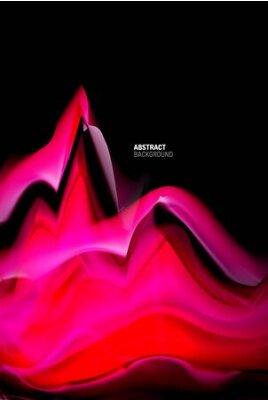 Naklejka Liquid gradients abstract background, color wave pattern poster design for Wallpaper, Banner, Background, Card, Book Illustration, landing page