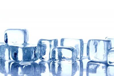 Naklejka Lód
